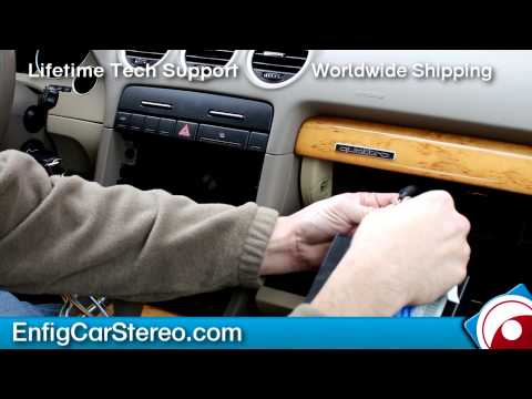 Installation Audi A4 2004-2008 With RNS-E Navigation Dension
