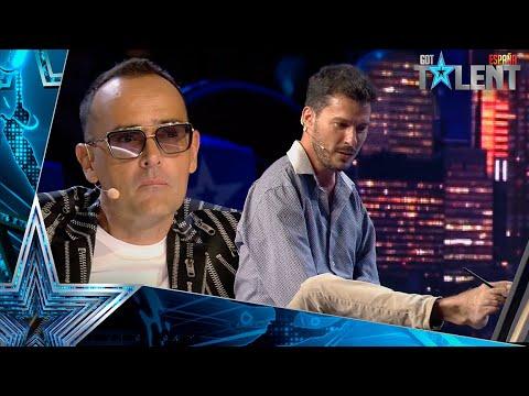 Este hombre sorprende pintando a RISTO MEJIDE con LOS PIES | Audiciones 5 | Got Talent España 2021