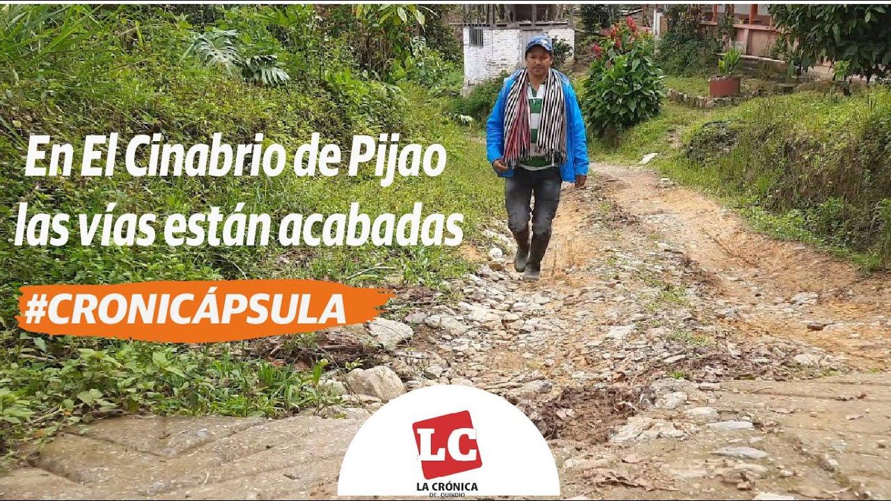 #Cronicápsula | En El Cinabrio de Pijao las vías están acabadas