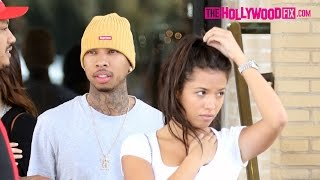Tyga Hangs Out With A Very Cute Mystery Girl At Barneys New York In Beverly Hills 3.20.16