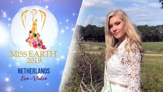 Nikki Prein Miss Earth Netherlands 2019 Eco Video