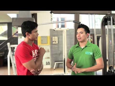 Satu set latihan pada trampolin untuk menurunkan berat badan