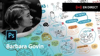 Master class avec Barbara Govin, facilitatrice graphique | Adobe France | Kholo.pk