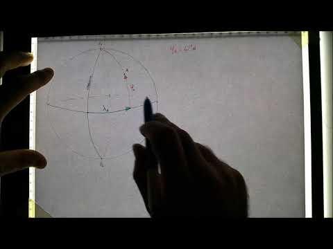 Navigazione Stimata: Lezione 1 - Latitudine e Longitudine