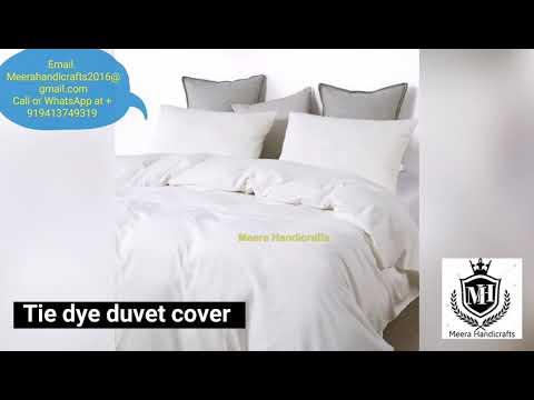 Hand Block Printed Duvet Covers