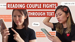 Girls Read Their Couple Fights Over Text | ZULA Perspectives | EP 13