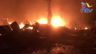 Fire burns Kongowea market – VIDEO
