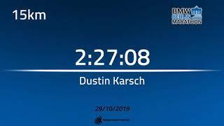 Momente aus Dustin Karsch Berlin Marathon
