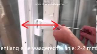 Balkontur Schnapper Einbauanleitung Einbauanleitung Balkontur