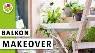 Balkon Makeover | Ich verschönere meine Loggia für den Spätsommer | Vorher Nachher
