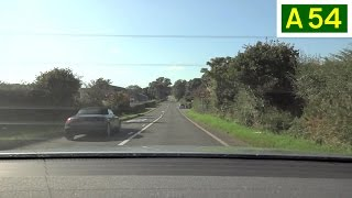 preview picture of video 'A54 - Kelsall to Winsford (Part 1) - Rear View'