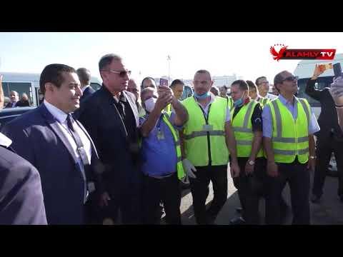 مطار القاهرة يستقبل بعثة الأهلي | عودة النسور لقلاعاها عقب التحليق فوق قلاع الوداد