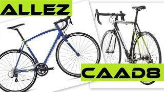 Cannondale CAAD8 Vs Specialized Allez - Alloy Road Bikes + ERROR On C-dale Website