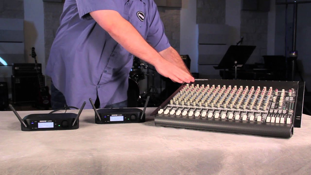 How to Set Up a Shure GLX-D Digital Wireless System