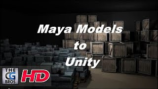 Maya To Unity Tutorial: How to Import Autodesk Maya Models Into the Unity Game Engine.