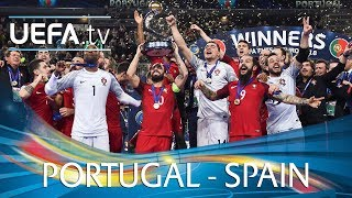 Futsal EURO 2018 final highlights: Portugal v Spain