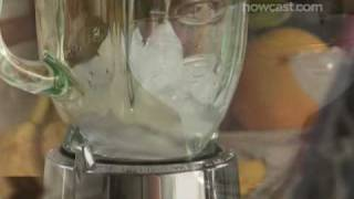 How to Make a Frozen Banana Daiquiri