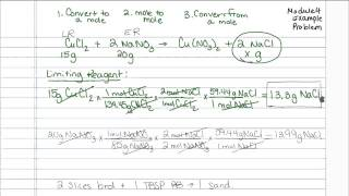 Limiting Reagent Problem (Chemistry)