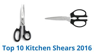 10 Best Kitchen Shears 2016