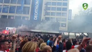 Alle doelpunten Feyenoord - Heracles vanaf het Stadhuisplein - FEYENOORD LANDSKAMPIOEN