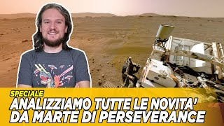 TUTTE le NOVITA' da MARTE di PERSEVERANCE (foto, video, audio) - [Live NASA integrale]