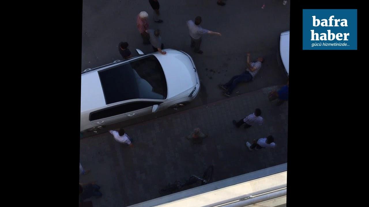 Bafra'da Silahlı Saldırı