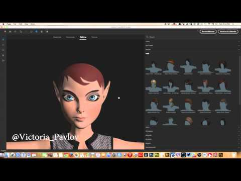 How to Create 3D Characters in the NEW Adobe Fuse CC