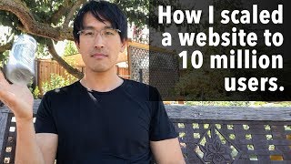 How I scaled a website to 10 million users (web-servers & databases, high load, and performance)