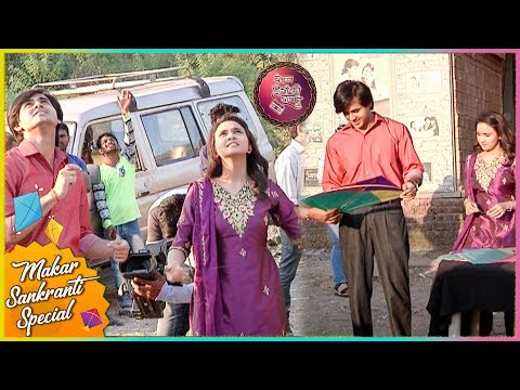 Randeep Rai FLIES KITE On The Set Of Yeh Un Dinon