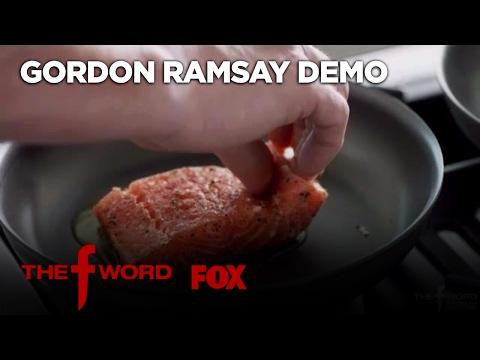 Gordon Ramsay Demonstrates How To Cook The Perfect Alaskan King Salmon   Season 1 Ep. 1   THE F WORD