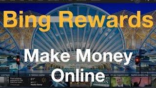 Microsoft Rewards (Bing Rewards) - Make $25 a Month - Make Money Online