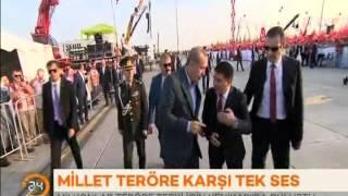 Cumhurbaşkanı Erdoğan:''Vatanına Göz Dikeni Ez Oğlum...''