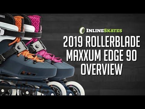 Video: 2019 Rollerblade Maxxum Edge 90 Men