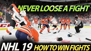 NHL 20 - How To Win Fights Guide