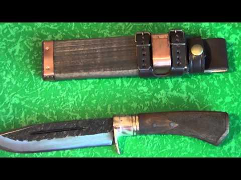 Herbertz Japanisches Outdoormesser 100715 - [Full-HD] Nahaufnahme / Close Up