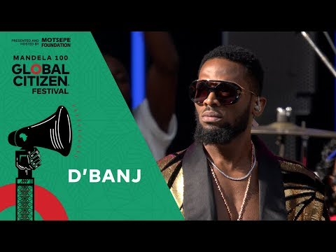 D'banj Performs the South African National Anthem | Global Citizen Festival: Mandela 100
