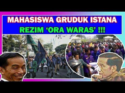 THEBOH TAI ! RAMAI GRUDUK ISTANA, MAHASISWA TOLAK AHOK & HRS DPJARAKAN !  BACIN BUSUK !