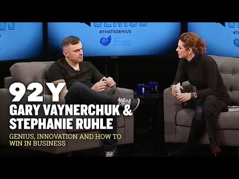 Gary Vaynerchuk: 92Y Talk With Stephanie Ruhle