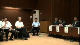 大川小事故説明会「言うなよ」というサインを送る教育課長