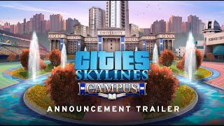 Cities: Skylines - Campus Youtube Video