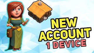 How to make a SECOND clash of clans account on ONE DEVICE!! 2020!  2 accounts 1 device! Easy! CoC!