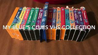 My Blue's Clues VHS Collection