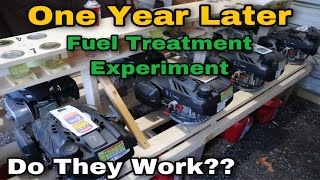 Do Fuel Additives Work?? One Year Later