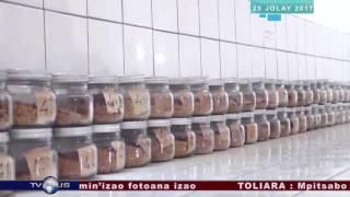 Fitokanan'i Praiminisitra Mahafaly ny Laboratoire de semences BY TV PLUS MADAGASCAR 1 clip1