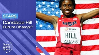 Candace Hill - Future Olympic Sprint Champion? | Trans World Sport