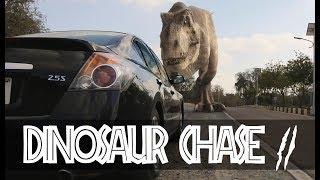 T-Rex Chase - Part 2 - Jurassic World Fan Movie
