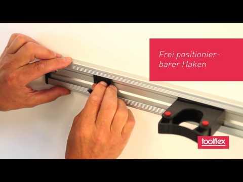 Toolflex Gerätehalter für Garten, Haushalt, Freizeit, Reinigung und Reha