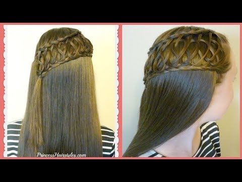 Squiggle Knot Braid, Beautiful Half Up Hairstyle Tutorial