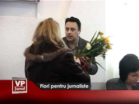 Flori pentru jurnaliste