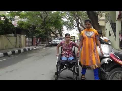 Home for 50 Challenged Girls in Bangalore, India